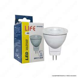 Life Lampadina Led GU4 4W Mini Faretto MR11
