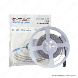 VT-2835 V-Tac Striscia Led monocolore 240 led/m - Globatek