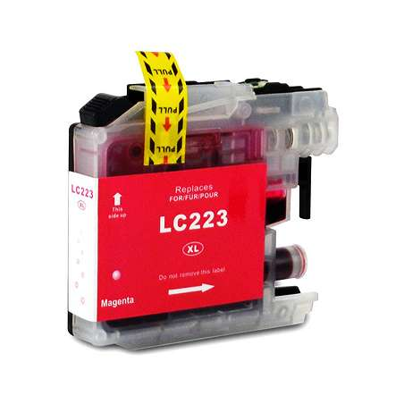Cartuccia Compatibile Brother LC223 Magenta