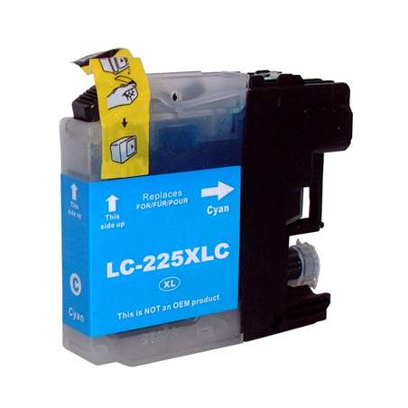 Cartuccia Compatibile Brother LC225 Ciano