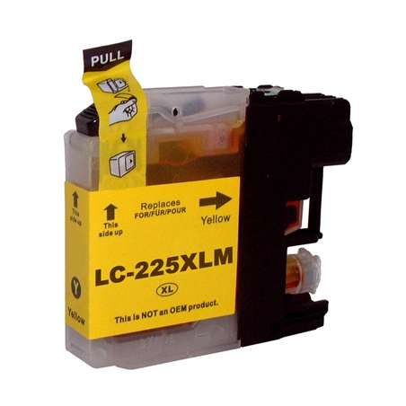 Cartuccia Compatibile Brother LC225 Giallo